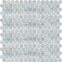 Interglass Penny Rounds White Mosaic Tile
