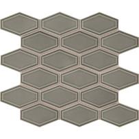 Waterford Sage Beveled Long Hexagon Mosaic Tile