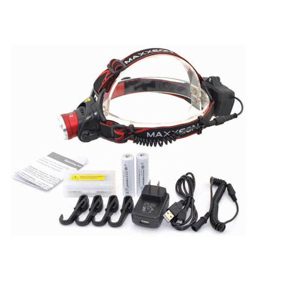 WorkStar 630 Headlamp with batteries and charger