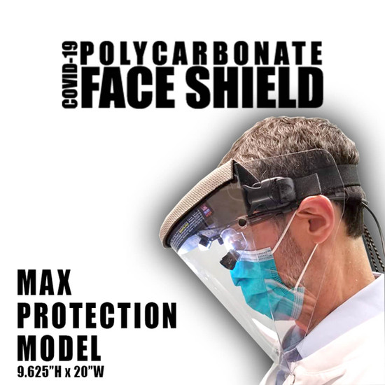 ProKnee PFSL Face Shield for Covid-19 Health Care Workers
