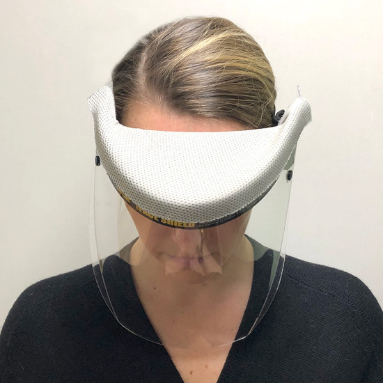 Full Protection Face Shield with Foam Wick Guard