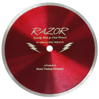 razor porcelain diamond blade