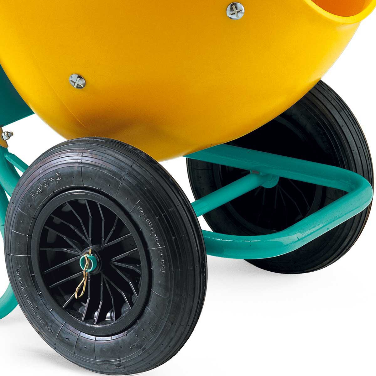 Imer Wheelman Concrete Mixer wheels