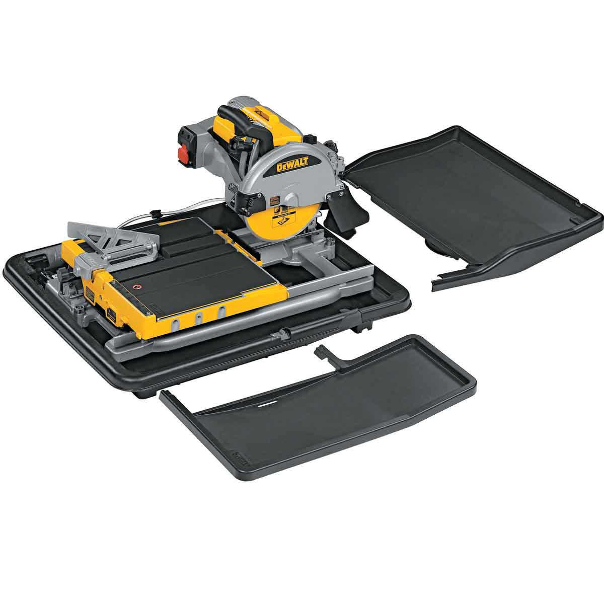 dewalt d24000 tile saw w/ water pan