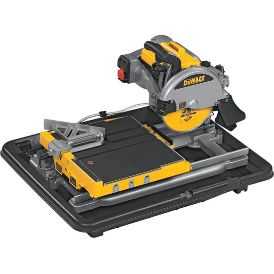 Dewalt D24000 Tile Saw without water tray