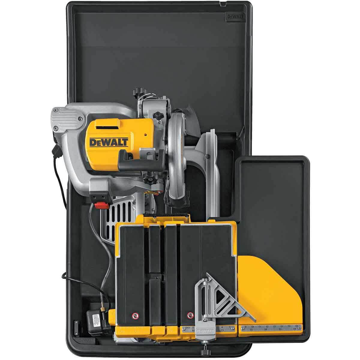 dewalt d24000 tile saw overheadview
