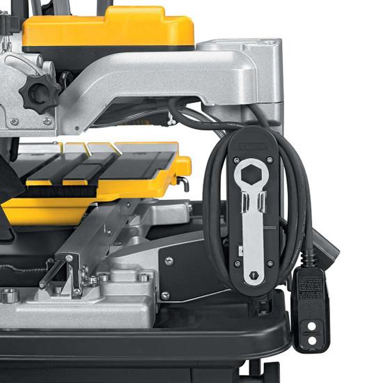 Dewalt D24000 Tile Saw plug & wrench holder
