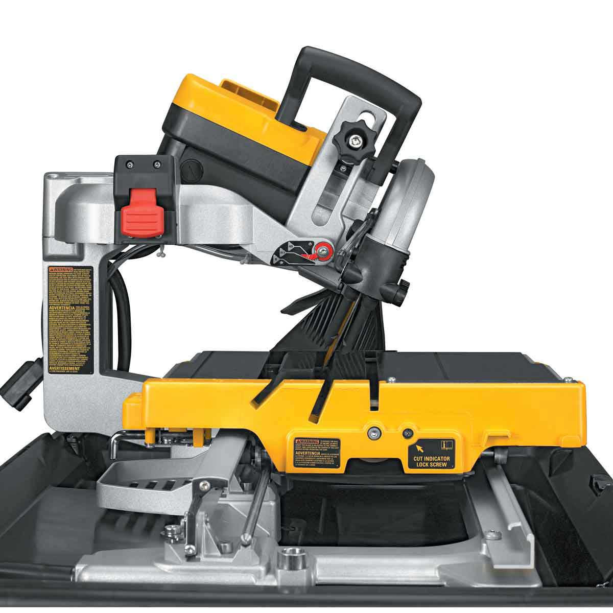 dewalt tile saw 22.5 miter cut