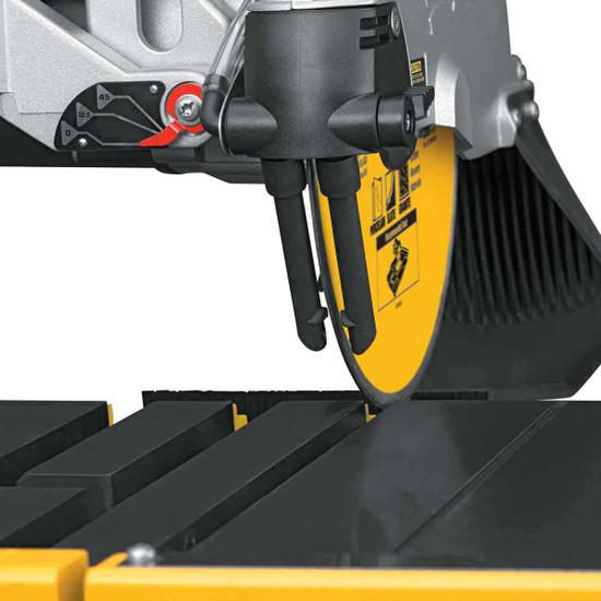 Dewalt D24000 Tile Saw adjustable water feed
