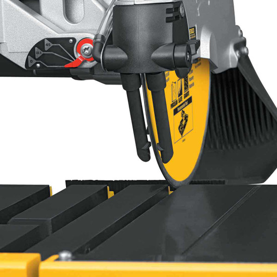 Dewalt D24000 Tile Saw adjustable water feed