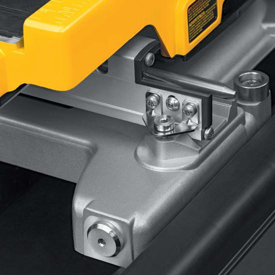 Dewalt D24000 Tile Saw rail height adjuster