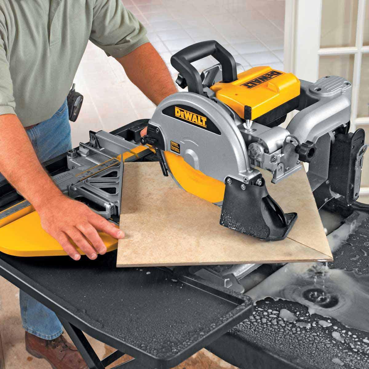Dewalt D24000 Wet Tile Saw Contractors Direct