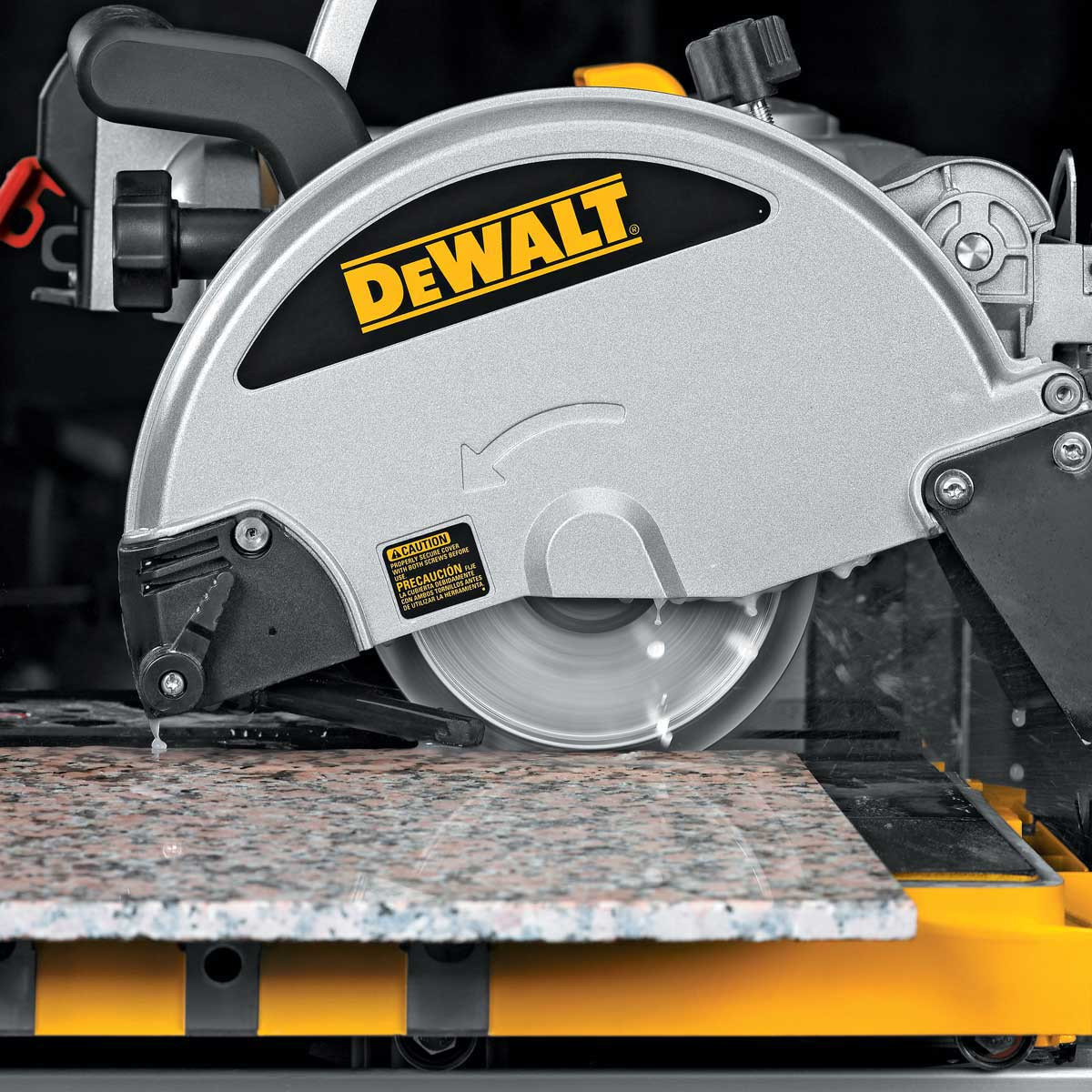 dewalt d24000 profile wheel cutting