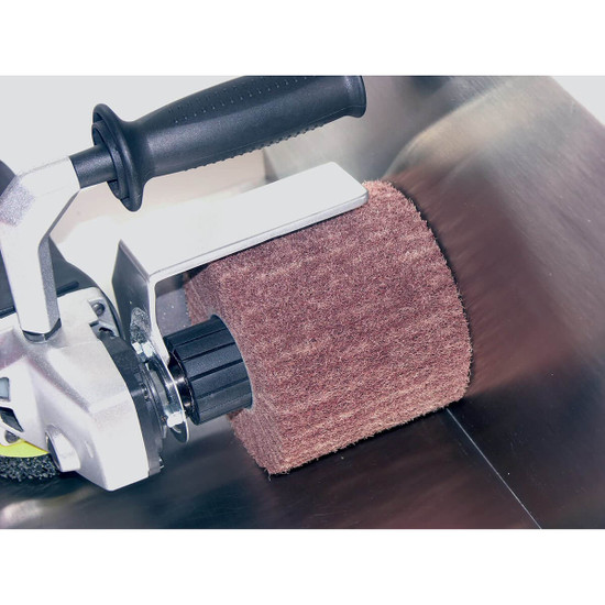 Polishing metal surfaces with the PTX Eco Smart machine