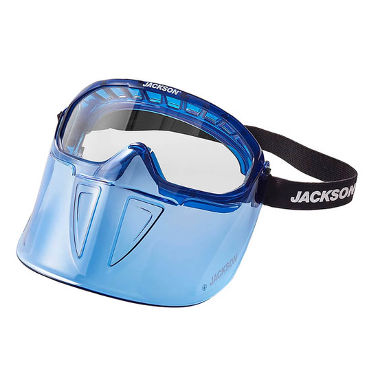 Jackson Safety GPL500 Goggles wth Detachable Face Shield