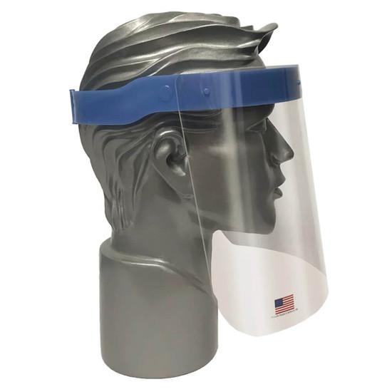 Full Face Coverage for Splash Protection
