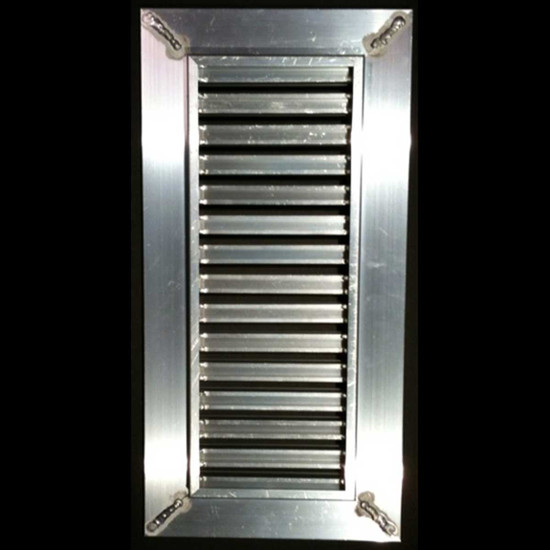 aircraft-grade aluminum frame and cradle Insert installer-cut pieces of floor material into the register channels
