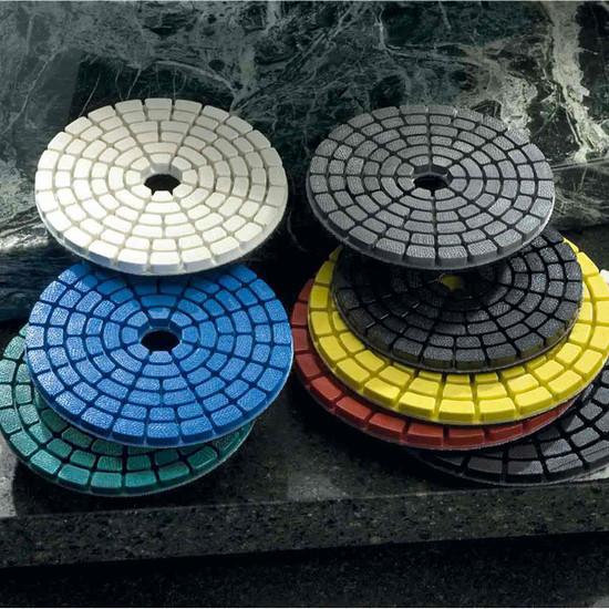 Shine-X Triple Thick 4 inch Diamond Pads 2