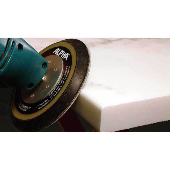Polishing Stone Edges with Alpha Sandpaper