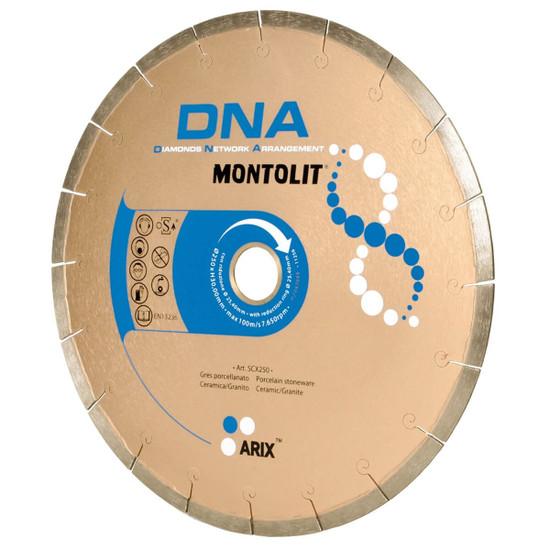 Montolit SCX DNA Diamond Blades