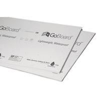 """90030141 GoBoard Tile Backer Board 1/2"""" x 3' x 5' durable, ultra-lightweight, waterproof tile backer board"""