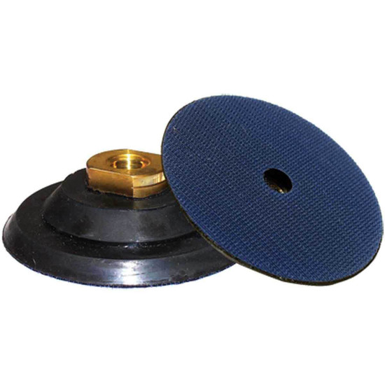 Alpha Hook and Loop Rubber Backer Pads