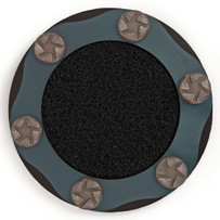 "593946814 husqvarna 14"" HIPERFLEX TRW 100 grit diamond pad fro concrete"
