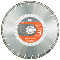 Husqvarna FR3 Metal Cutting Fire Rescue Diamond Blade Engineered for use by Fire Fighters, Rescue, USAR, S.W.A.T. and Police