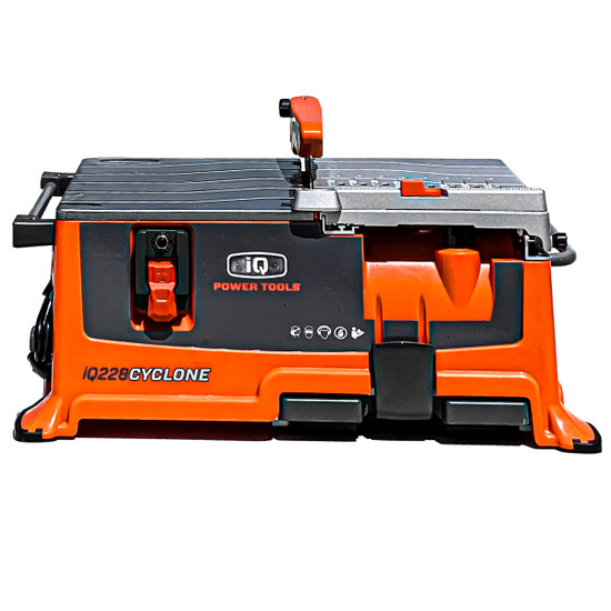 "IQ228 7"" Dustless/Dry-Cut Bench Top ceramic tile saw"