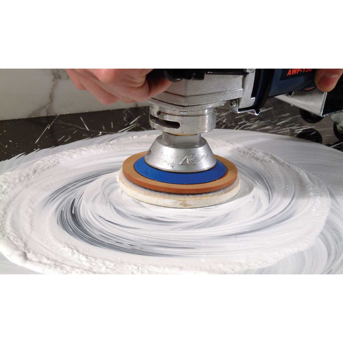 Felt Wheel for Polishing With Powder