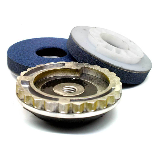 Alpha PVA Polishing Pads with Quick Change Backer Pad