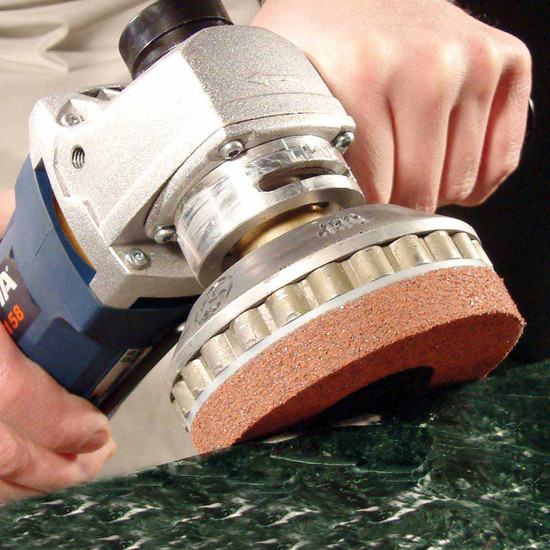 Alpha PVA Quick Change Pads for Stone Polishing