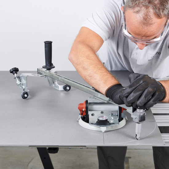 LTMOTOKOMPAS Raimondi Circular Shaping Tool corner cutting thin panel porcelain tile