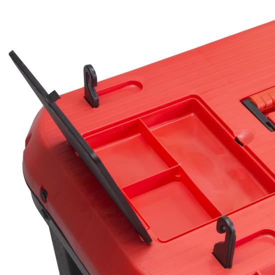"75965 Rubi 29"" Professional Rolling Tool Box lid storage"
