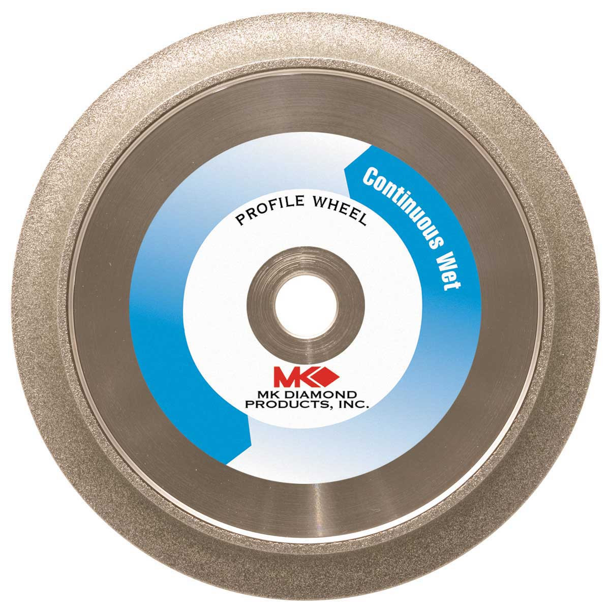 MK-275 6 inch Marble Diamond Profile Wheel