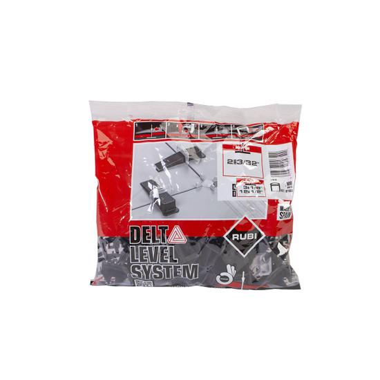 Rubi Delta Leveling System 3/32 inch Clips bag