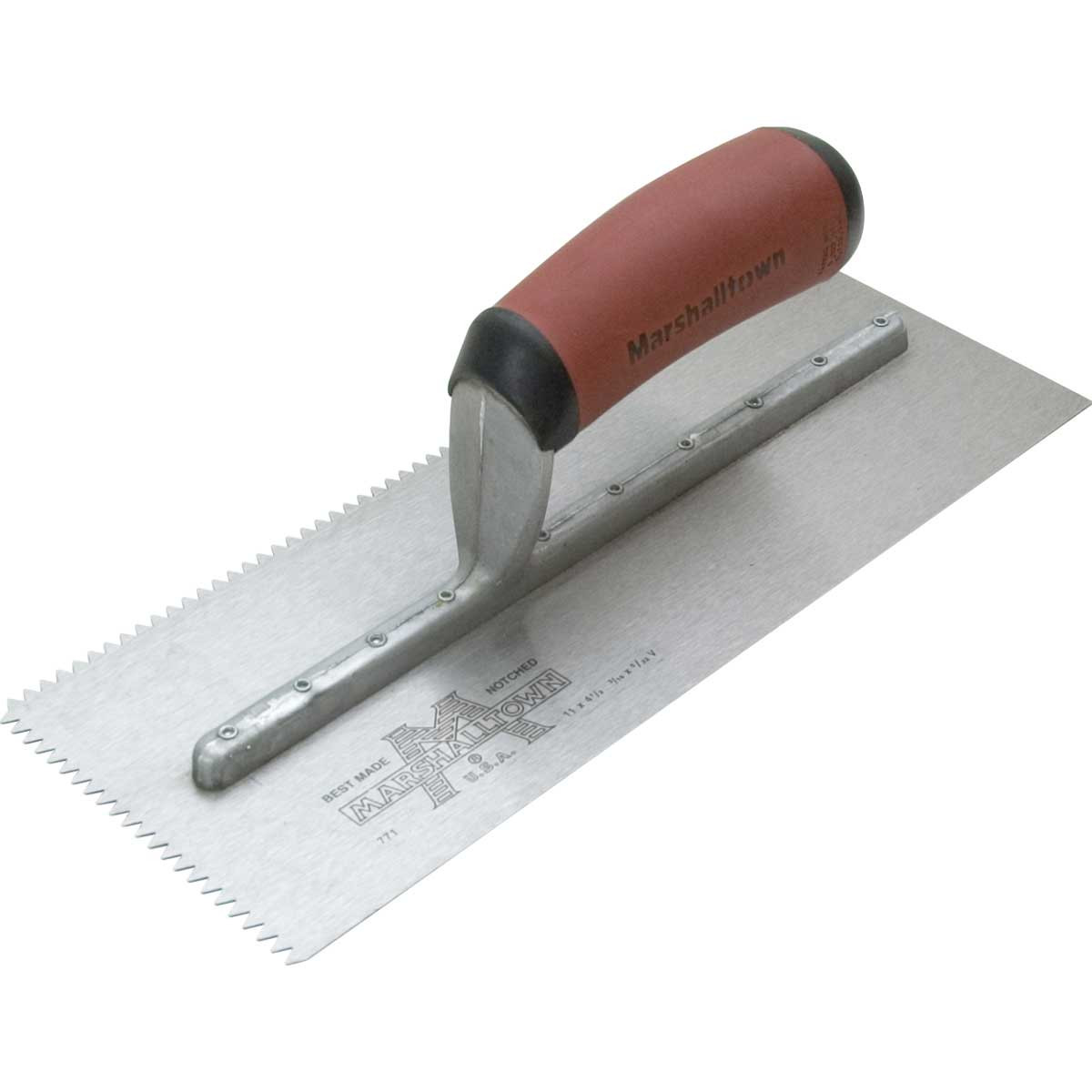 Marshalltown Notched Trowel wall
