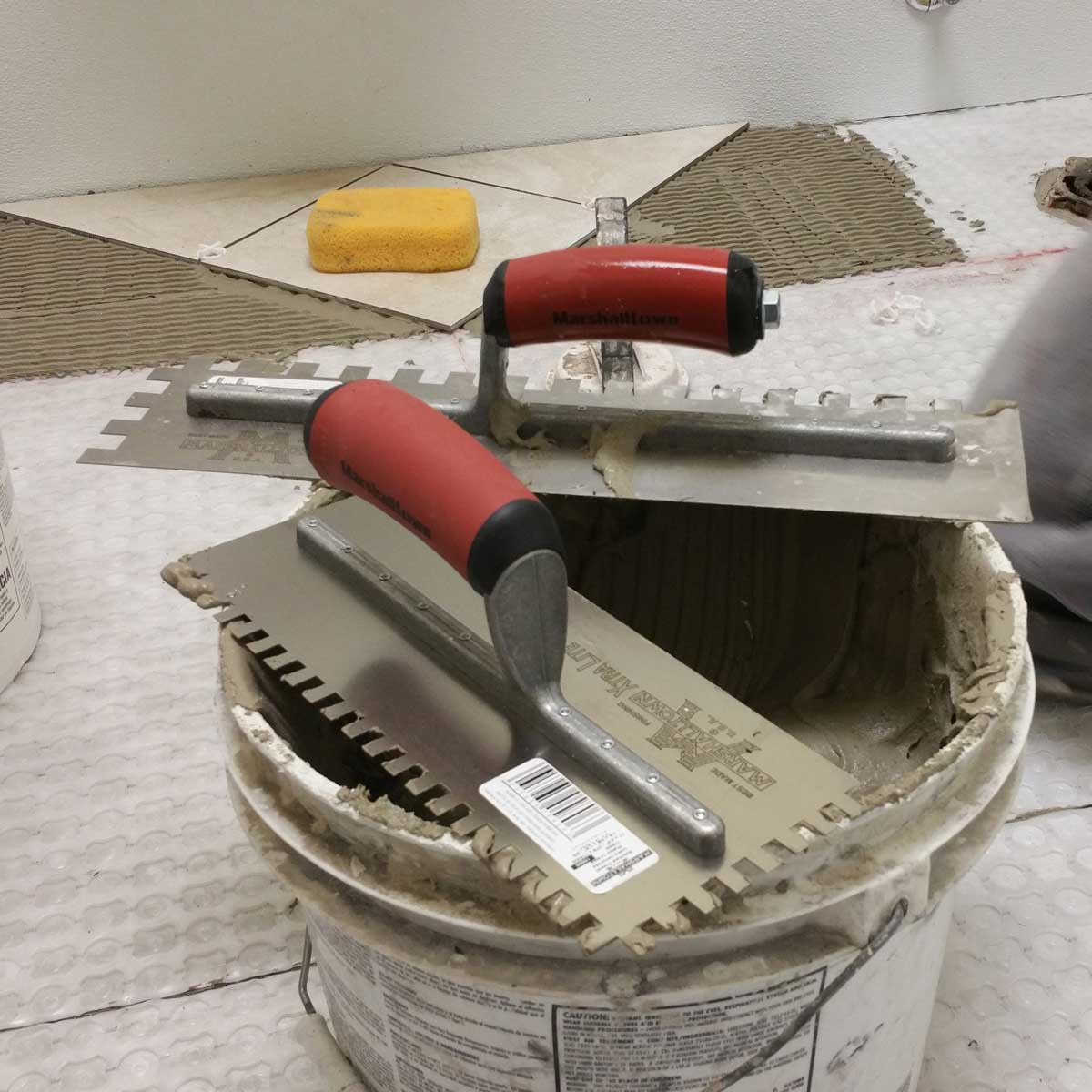 Marshalltown Notched Trowels