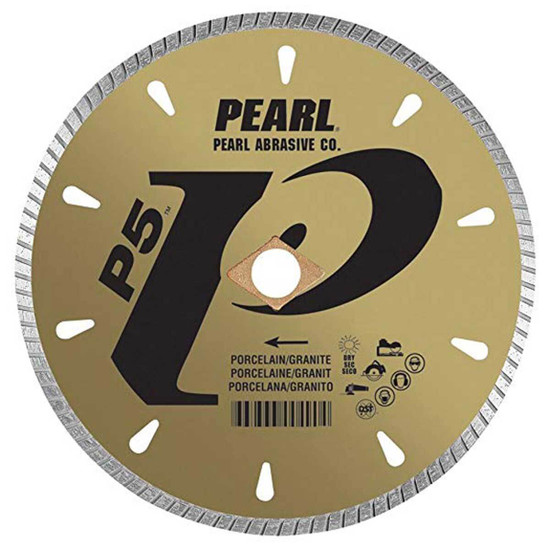 Pearl SHD Dry Cutting Porcelain and Granite Blade