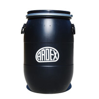 12499 ARDEX T 10 15 gal Mixing Drum with Lid self leveling and mixing