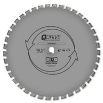"MASQX16-125-QD-HM1 IQ Power Tools 16-1/2"" Q-Drive Arrayed Segmented Semi-Hard Material Blade"