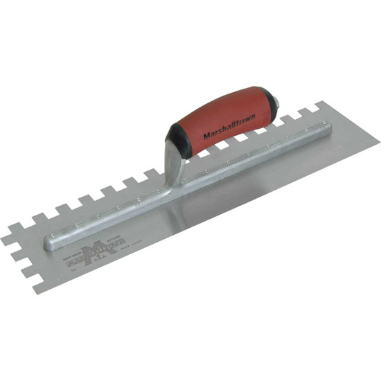Marshalltown 16 inch Square Notched Trowel