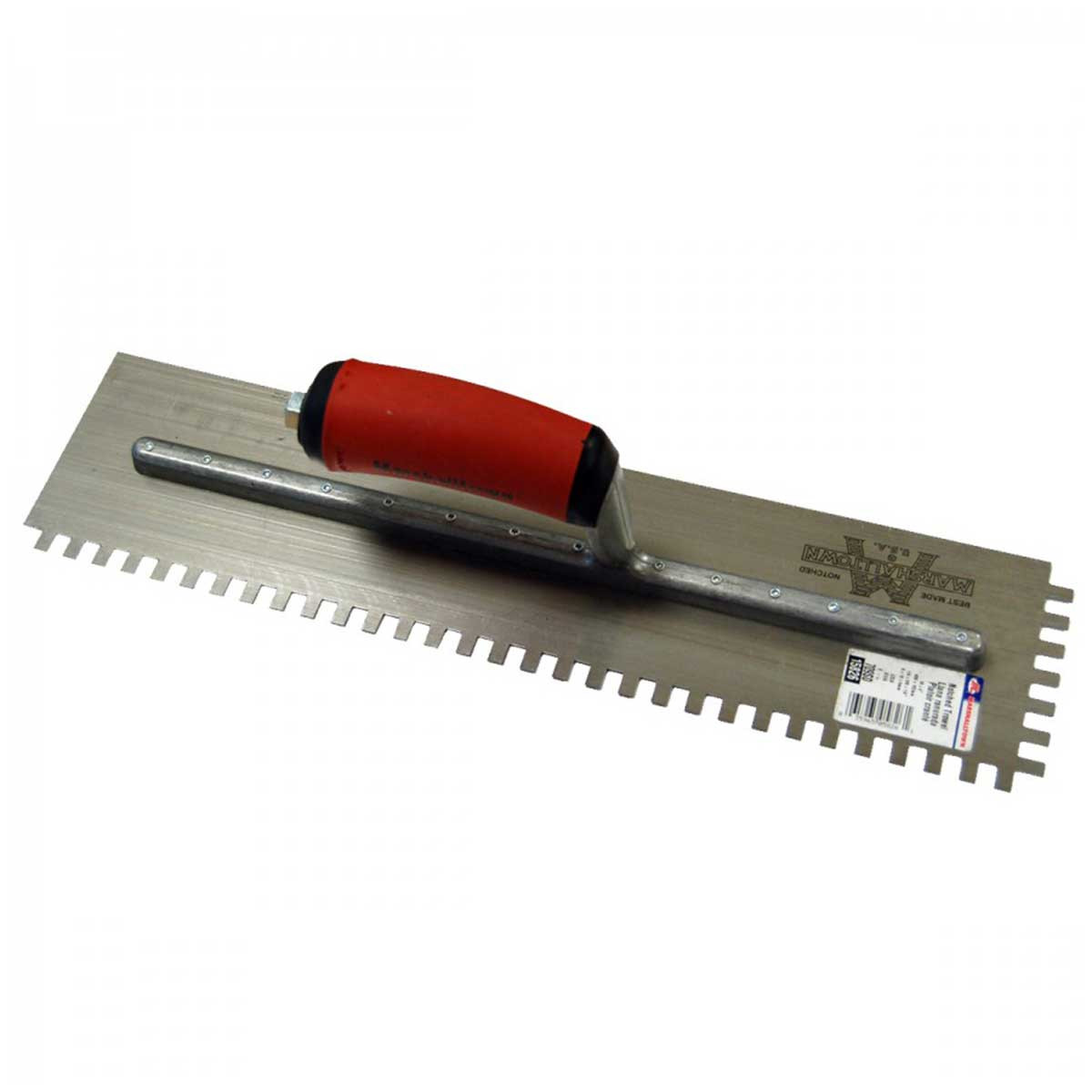 "Marshalltown 16"" Notched Trowels Tile Tools Contractors"