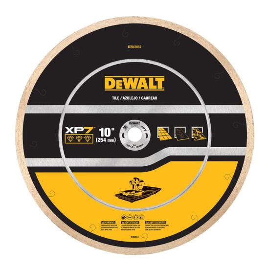 DW47057 DeWalt XP7 10 inch Tile Blade
