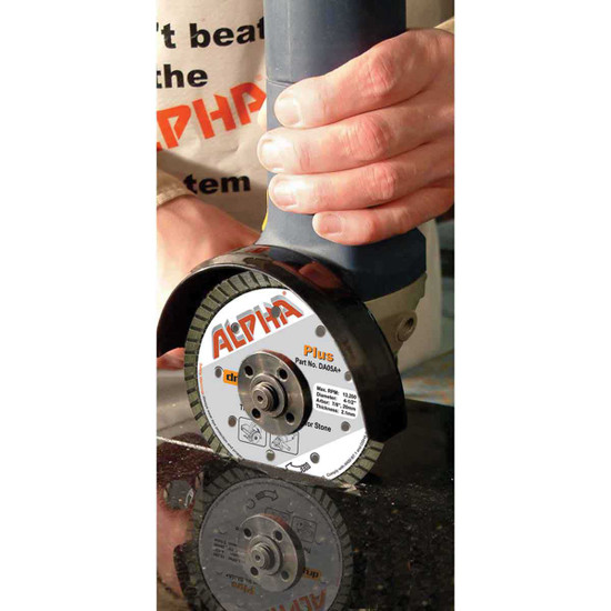 alpha plus dry cutting blade grinder