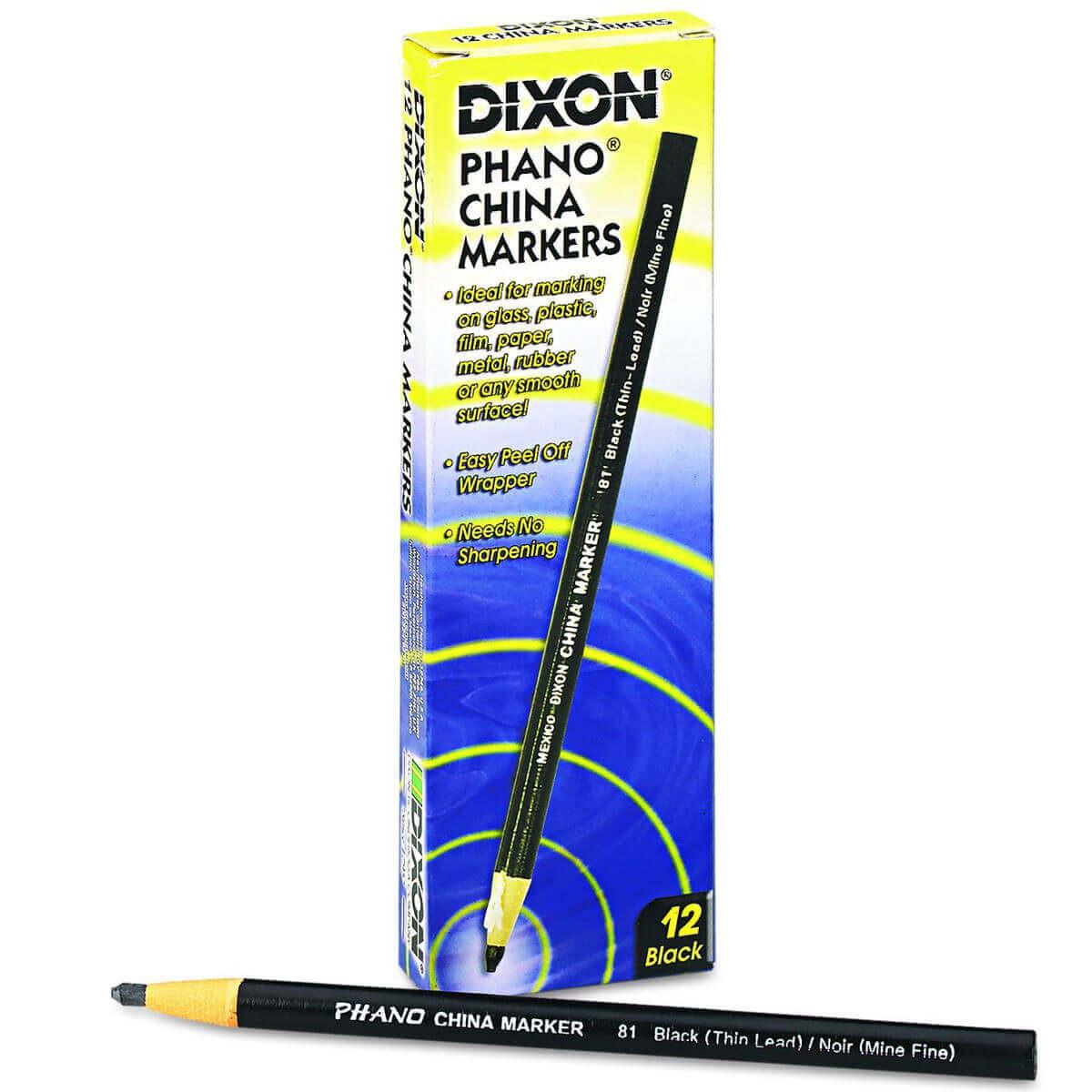 Dixon Phano Peel-Off China Marker