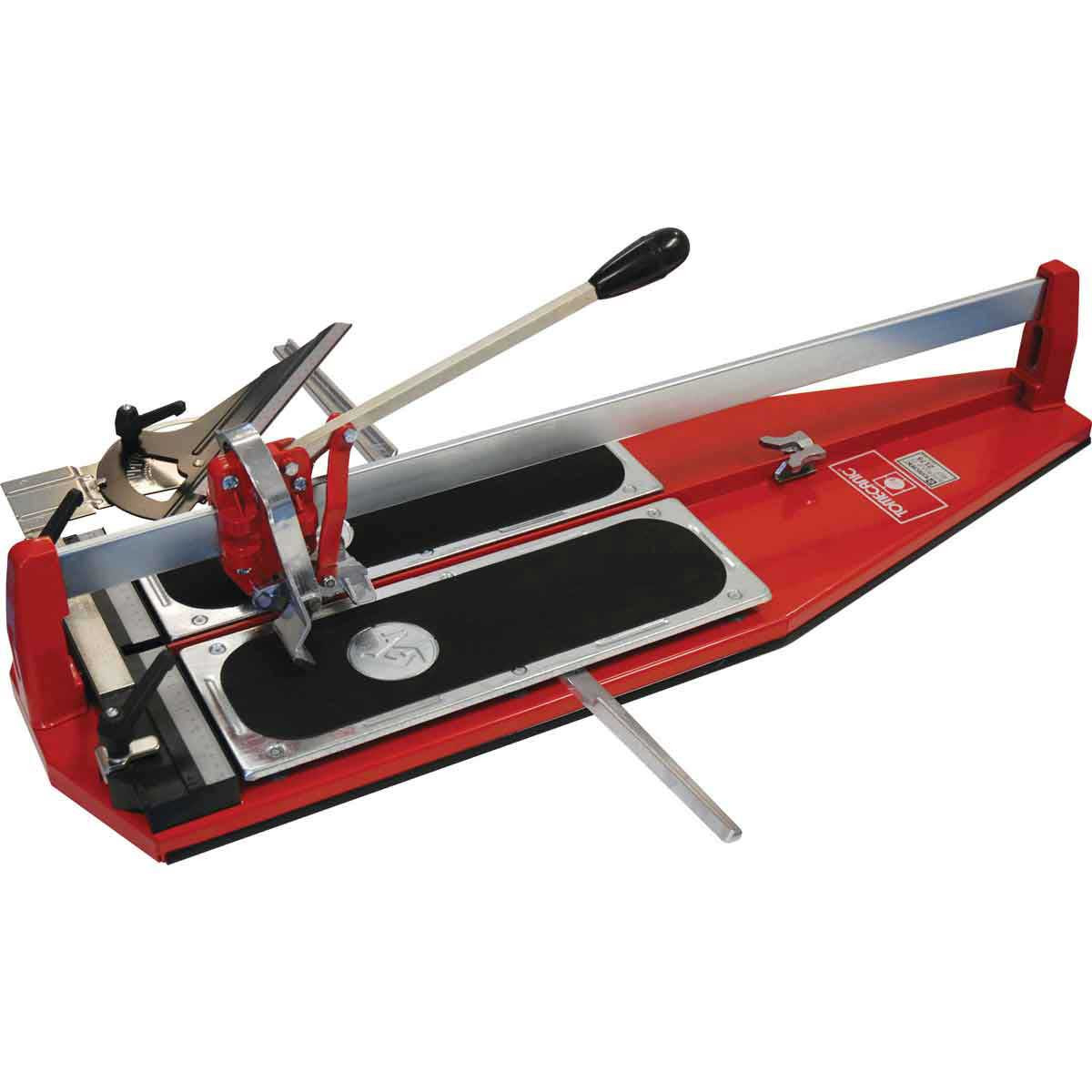 how to use a manual tile cutter
