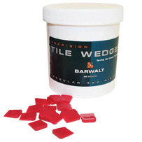 Barwalt Precision Tile Wedges Red 12370