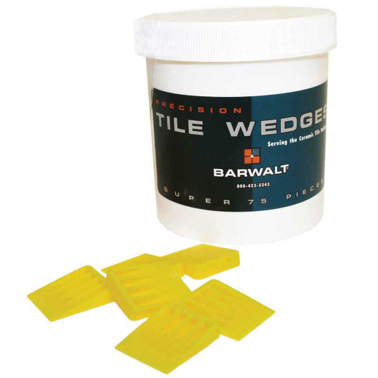 Barwalt Precision Tile Wedges Yellow 12380