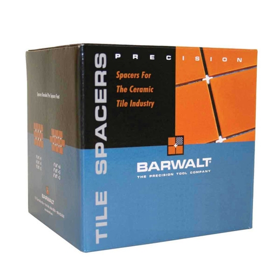 barwalt Precision Brand original rubber flex spacers that ensure the professional tile setter an accurate installation every time